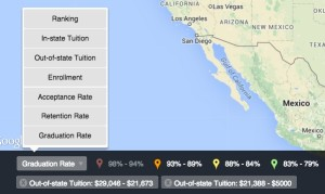Inexpensive colleges with high graduation rates
